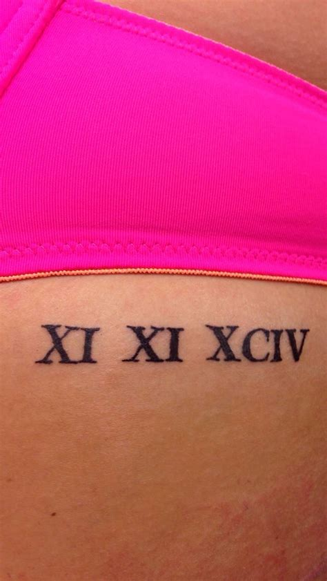 rib cage roman numeral tattoo cool tattoos pinterest