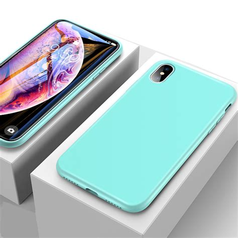 ultra thin all inclusive iphone x xs max silicone ipxsm01 cheap cell phone with