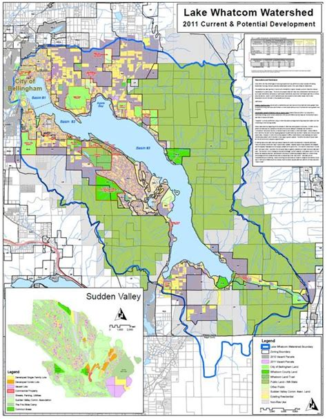 whatcom county zoning map joint policy meeting presentation 7 11 2011 lake whatcom