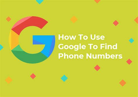 How To Find Using Phone Number How To Use To Find Phone Numbers