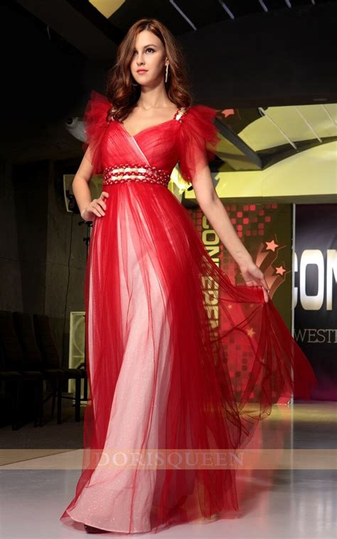 celebrity dresses 2014 red long christmas party dresses
