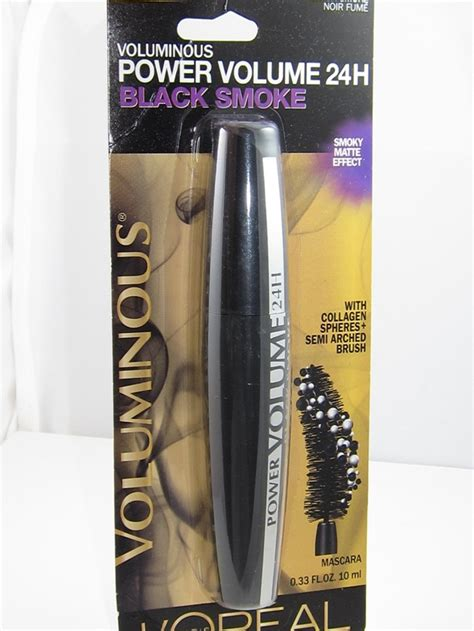 Loreal Volume Shocking Mascara Expert Review by L Oreal Voluminous Power Volume Black Smoke Mascara Review