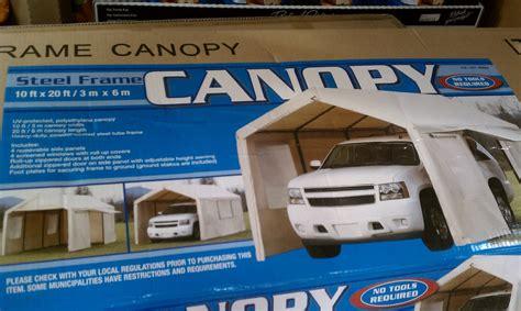 Costco 10x20 Canopy.Portable Garage Costco Metal Shed Kits