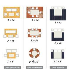 Choosing Area Rug Size by 1000 Ideas About Rug Size On