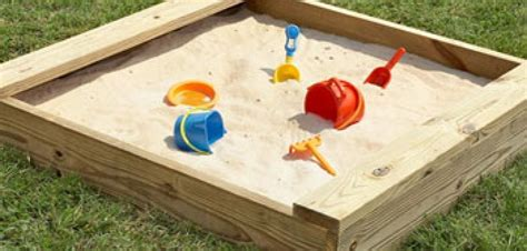 The Home Decorating Company Coupons by How To Make A Kiddies Sand Pit 2017 Diy How To Advice