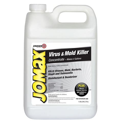 jomax house cleaner zinsser 1 gal jomax house cleaner and mildew killer 60101 the home depot