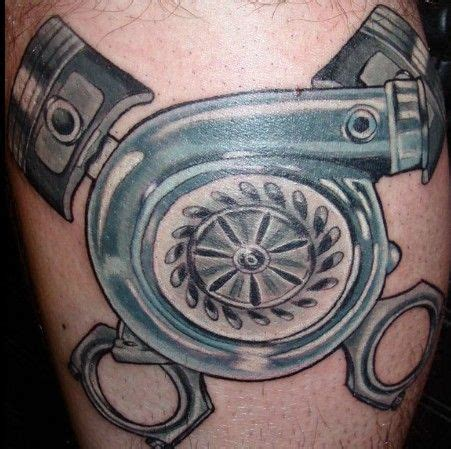turbo and piston tattoo 4 turbo piston tattoos