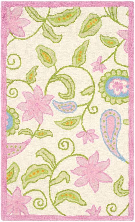 safavieh pink rug safavieh safavieh sfk351a ivory and pink area rug