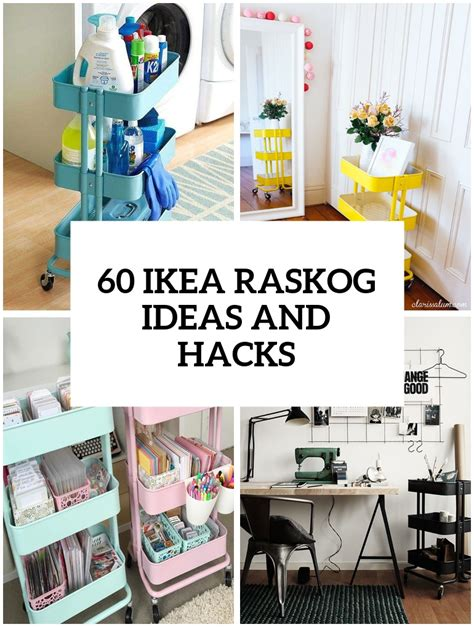 raskog cart hacks ikea hacks archives digsdigs