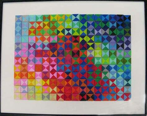 Origami Math Project - origami geometry project at middle school by