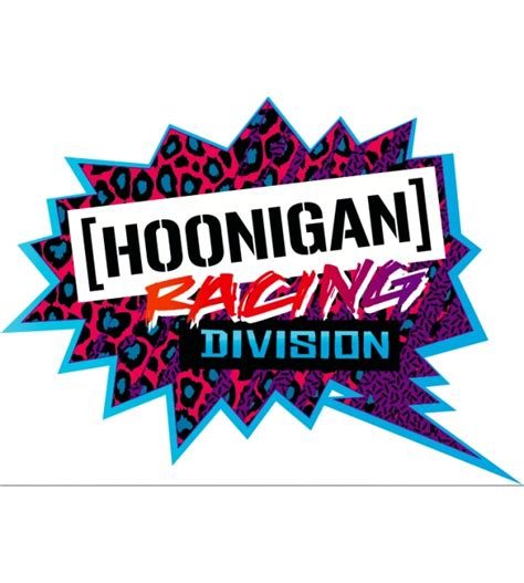 hoonigan racing logo hoonigan racing division decal performance clothing