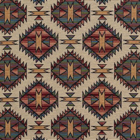 southwestern upholstery fabrics burgundy tan and green navajo southwestern upholstery fabric
