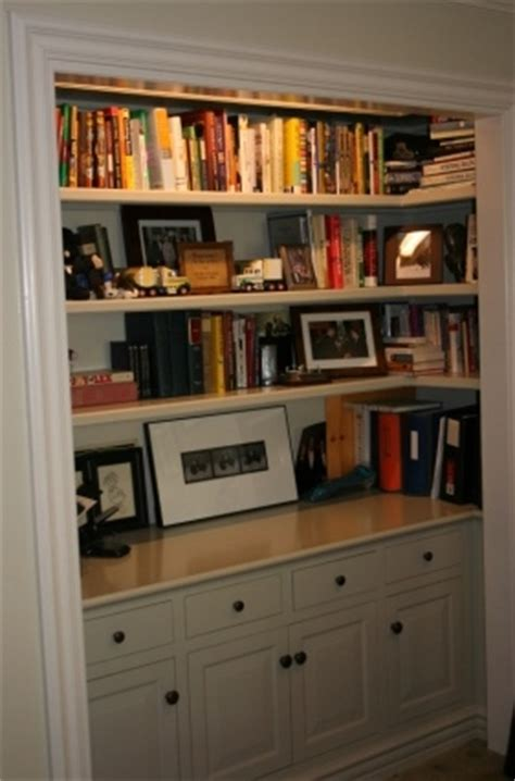 Bookcase In Closet by Home Alone And Loving It Huffpost