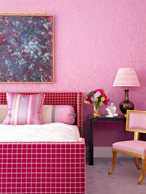 shades of pink for bedroom walls bhg style spotters