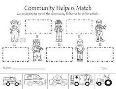 mi themes language results for community helpers worksheet guest the