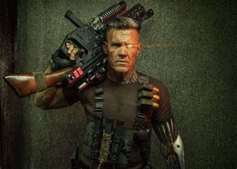 who plays cable in deadpool 2 deadpool 2 cable played by josh brolin unveiled