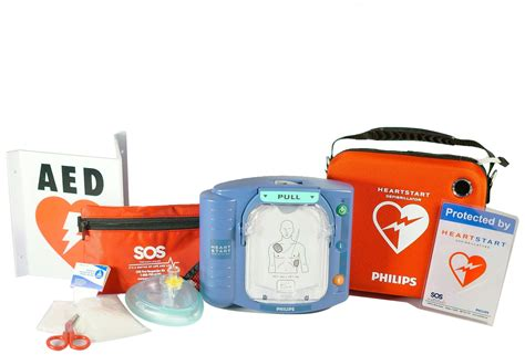 sos aed package for home