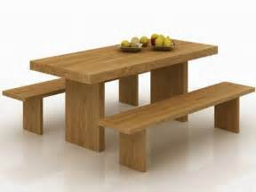 Solid Wood Dining Table With Bench Amazing Feature Of The Dining Table With Bench Your Home