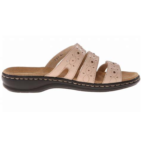 wide width sandals clarks leisa cacti q wide width slide sandals
