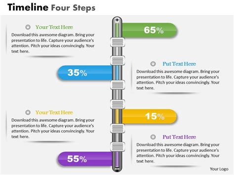 timeline business plan template 0914 business plan timeline four steps powerpoint