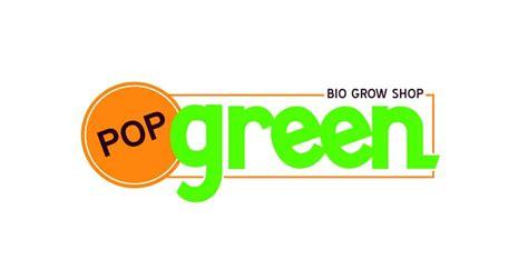 Logo Pop Green pop green grow shop maps