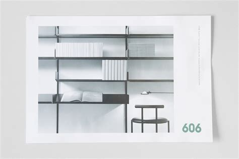 606 universal shelving system fonts in use