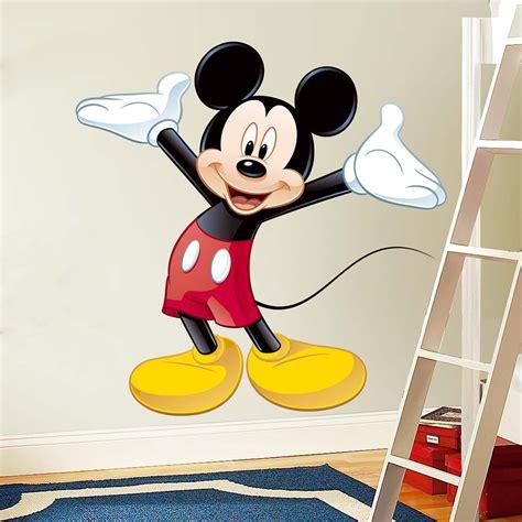 mickey mouse wall sticker mickey mouse wallsticker fra kun 299 kr