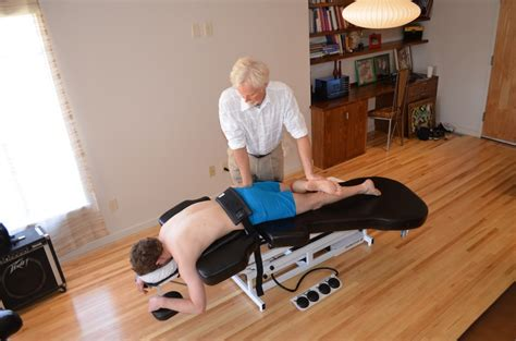 comfort craft massage table myoskeletal technique for hypertonic tfl and it band