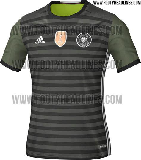 Jersey Kid German Away germany 2016 kits revealed footy headlines