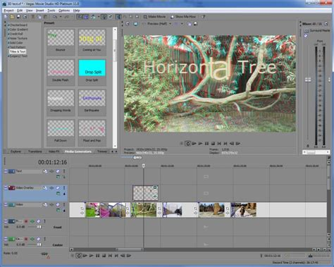 Sony Vegas Movie Studio Hd Platinum 11 Review Expert Reviews Sony Studio Platinum 13 Templates