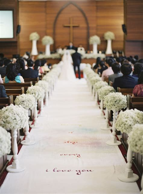 Baby S Breath Wedding Aisle by 20 Wedding Aisle Runners Ideas Will Make Your Wedding More