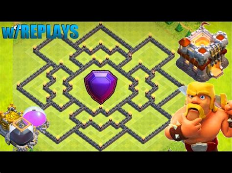 ultimate layout compilation clash of clans best th11 hybrid base new update bomb