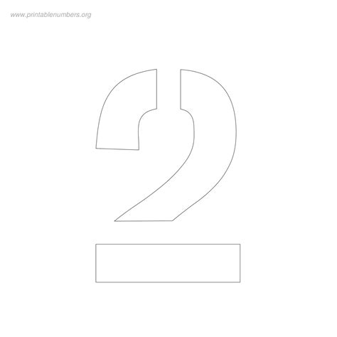 printable number stencils 2 inch free 3 inch number stencils to print printable numbers org