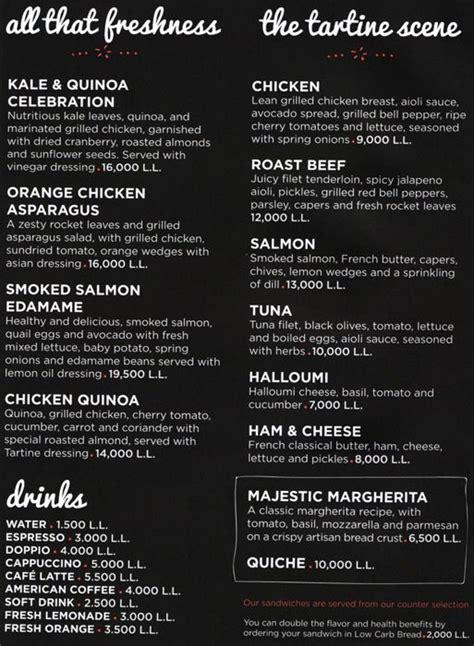 bartartine restaurants international