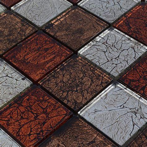 porcelain and glass tiles wall bathroom backsplash leaves crystal glass backsplash tiles maple leaf glass mosaic