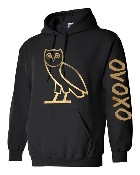 Drake Ovo Sweater | ovo drake gold owl ovoxo octobers very own weeknd hoodie