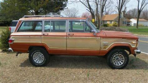1981 Jeep Wagoneer Buy Used 1981 Grand Jeep Wagoneer Limited 4x4 Automatic No