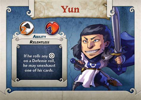 Arcadia Quest Characters Aeric bordspellen kopen arcadia quest boardgame character yun archonia