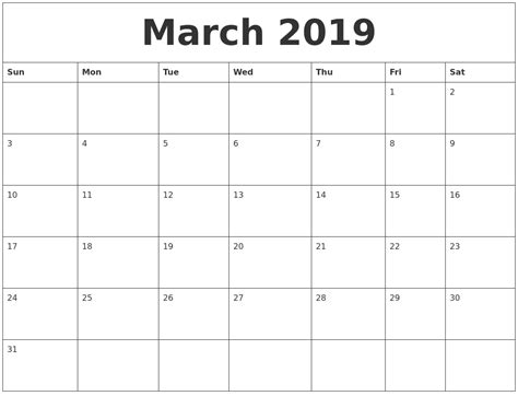 April 2019 Calendar Word Calendar Weekly Printable 2019 Calendar Template Word