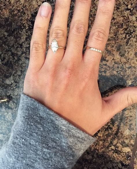 wedding ring on middle finger of left wedding ideas