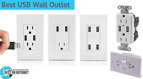 best outlet best usb wall outlet top wall receptacles