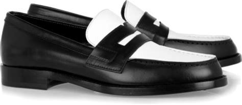 Aldo Two Tone Wallet Black And White laurent two tone leather loafers in white