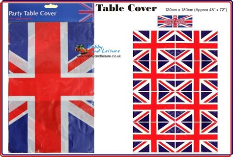 Union Uk 180 union table cover tablecloth plastic cloth 120cm x 180cm hobby and leisure