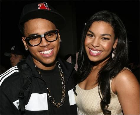 Jordin Sparks And Chris Brown On The Set Of No Air by It Takes Two The Boston Globe