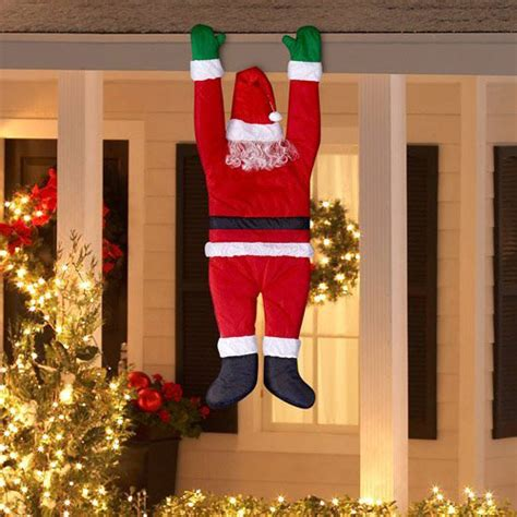yard santa claus eraper around a tree on skis 35 awesome decorations ornaments 2016 you would to buy