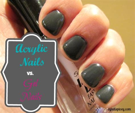 7 Disadvantages Of Acrylicuv Gel Nails by Acrylic Nails Vs Gel Nails Cyndi Spivey