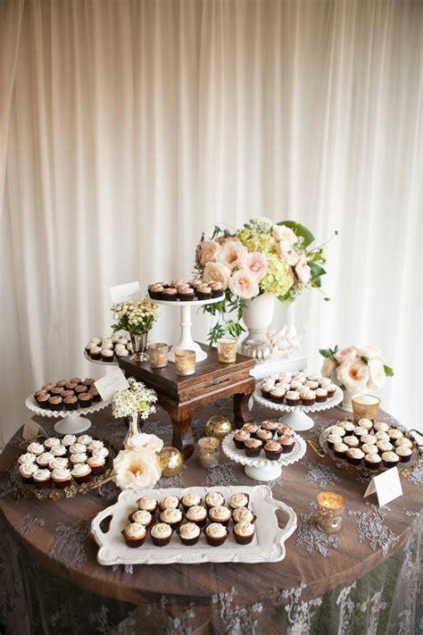 Wedding Cupcake Layout   45 chic and creative wedding dessert ideas dessert bars