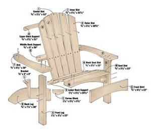 Adirondack Ottoman Plans Adirondack Chair Ottoman Table Woodsmith Plans
