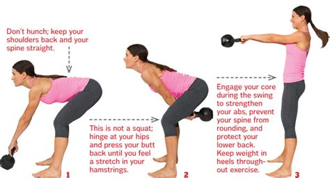 kettle swing exercise workout kettlebell swing glow