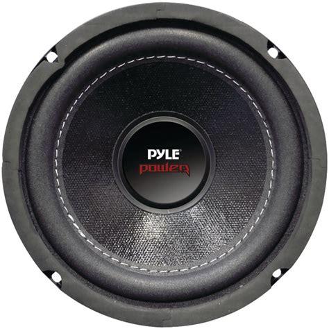 Speaker Subwoofer Coil pyle audio plpw8d dual voice coil 4ohm subwoofer 8 800